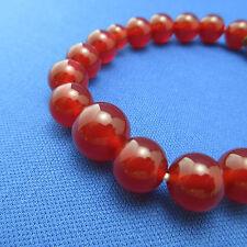 Red Agate Stone Bracelet Japanese Juzu Rosary Prayer beads Zen Cool Kyoto