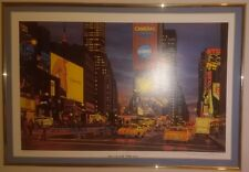 Do Not Cross by Matthew Popielarz 42nd St New York City signed & numbered litho