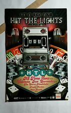 HIT THE LIGHTS LET IT RIDE YOUR HTL MUSIC ART 4x6 MINI POSTER FLYER POSTCARD