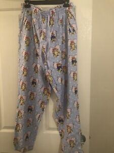 Peter Alexander Ladies Pants XL Paddingron Bear
