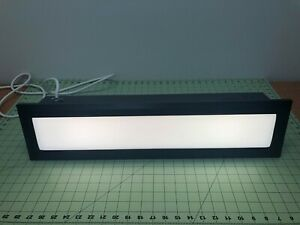 Visa Lighting CB6620 Black Recessed Illuminated Wall Accent Light Fixture - NEW