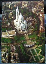France Paris La Basilique du Sacre-Coeur et ses jardins - unposted