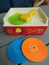 Vintage 1971 Fisher Price Music Box Record Player