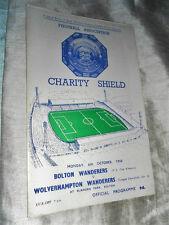 1958 CHARITY SHIELD BOLTON WANDERERS V WOLVERHAMPTON