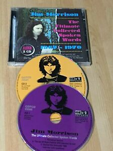 Jim Morrison ( The Doors ) The Ultimate Collected Spoken Words 1962-1970 CD