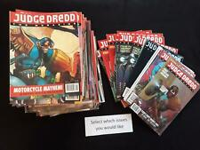 Judge Dredd Megazine Volume 2 good reading copies - Choose issues at £1.49 each