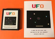 UFO Atari 2600 VCS homebrew videogame Video Computer system game Odyssey U.F.O.