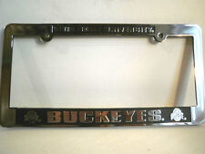 Ohio State Buckeyes License Plate Frame Car Auto OSU New College NCAA Auto Tag
