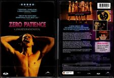 DVD John Greyson ZERO PATIENCE Gay Musical Canadian UNRATED cult FS R1 OOP NEW