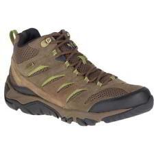 Merrell Moab Mid White Pine Men's Waterproof Walking Hiking Shoes Boots SZ 10.5