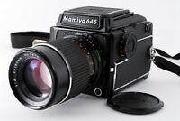 [Mint] Mamiya M645 1000S Waist Level Finder + Sekor C 150mm F4 Japan 160Y1A40-11
