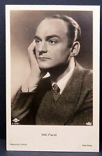 Willi Forst AK - Foto Autogramm-Karte - Photo Postcard (Lot # F2842