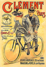 Clément Bicycle Bike Cycle  Poster Print