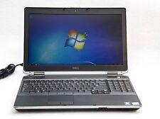 """Dell Latitude E6530 15.6"""" 3rd Gen. Core i5-3380M 2.9GHz 4GB 500GB Win 7 Laptop"""