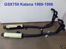 Suzuki GSX750 Exhaust Pipe L + R NOS Katana 750 Exhaust Muffler GSX750F -20C41