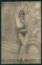 An 536 Belly Dancer French Nude nude original c1910-1920s postcard lot set of 5