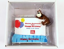 """NEW GUND- """"Goober"""" Motion Activated Musical Birthday Picture Frame 4X6 Kids Gift"""