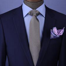 "Black & Silver Snake Skin Woven Stylish 3"" Necktie Business Formal Elegance"