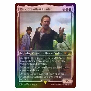 Rick, Steadfast Leader - FOIL - NM/M - Walking Dead Secret Lair - MTG