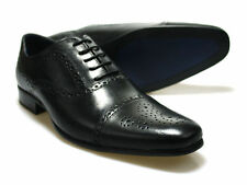 Red Tape Slade Black Leather Formal Men's Shoes UK 7-12 RRP £45 Free UK P&P!