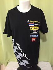 Kart Racing EasyKart Thailand B-Quick Men's Black T Shirt Size Large Tissot Mich