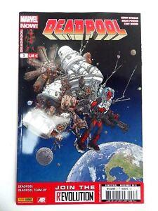 Magazine Marvel Now Deadpool No ° 3 La Mucus Of Étoiles Nov 2013 Fr Panini