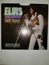ELVIS America / My Way RCA 11165 45 PICTURE SLEEVE ONLY