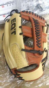 Adidas EQT Pro Baseball Glove 1175 CW Fielding Right Hand Throw RHT Tan Blue New