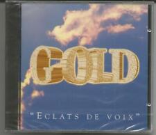 """GOLD """"Eclats de Voix"""" CD 1994 WMD/France NEU/OVP/NEW/NEUF"""