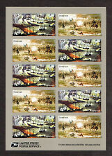 4664-4665 The Civil War 1862   MNH SA 2012      Block of 10     Forever