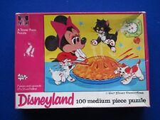 Waddingtons  ' Disneyland - ' Minnie Mouse ' Jigsaw Puzzle   100 Pieces  1970s