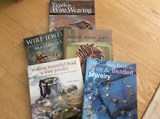 5 Wire Jewellery Books in excellent condition.