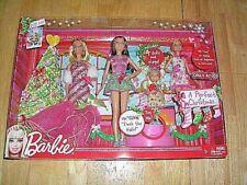BARBIE-TARGET-A SPECIAL CHRISTMAS BARBIE #V6986-FOUR (4) SINGING DOLLS-NEW-NRFB
