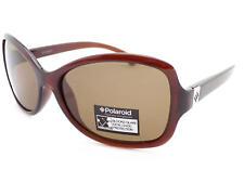 POLAROID Polarized Womens Sunglasses Crystal Brown / Brown P8104B