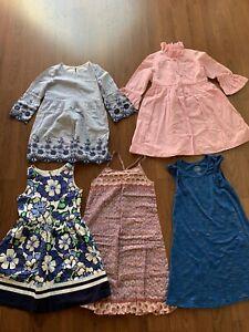 Lot of 5 - Girl's Dresses - Spring/Summer Sz 10 GAP, GYMBOREE, Crewcut, etc. NR!