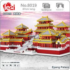 Lezi World Architecture Epang Palace Model Mini Diamond Blocks Building Toy Gift
