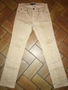 Pantalon RALPH LAUREN taille 2 Modern Straight imprimé python TRÈS BON ÉTAT