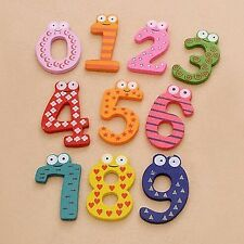 Montessori Educational Toys Magnetic Wooden Numbers Toys (Small)