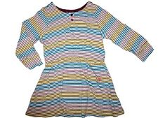 Toddler Girl Pink Chicken Striped Purple Blue Green Dress Size 2 Y