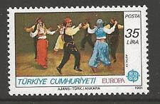 TURKEY SG2730 1981 FOLK DANCES 35l MNH