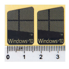 Microsoft Window 10 Silver Logo Sticker Decals for Laptop PC 23mm x 16mm