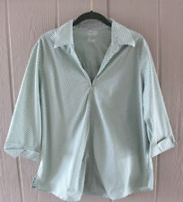 FOXCROFT 14W Wrinkle Free Shaped Fit Shirt