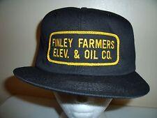 FINLEY FARMERS OIL NEW VINTAGE SNAPBACK Trucker Hat Baseball Cap Retro Rare BB