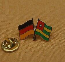 Freundschaftspin Deutschland Togo Pin Badge Button Anstecker Anstecknadel AK