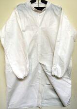 1 Case of 30 3X Lab coats / Frocks, Disposable Polyethylene/Polypropylen e