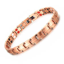 Slim Pure Copper Magnetic Bracelet women Arthritis Pain Relief Balance Energy