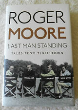 SIR ROGER MOORE SIGNED LIMITED EDITION HARDCOVER LAST MAN STANDING JAMES BOND