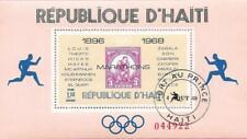 République d' HAITI - 1969 - Bloc 35 - Vainqueurs olympiques Marathons - oblitér