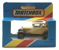Matchbox Ford Vintage Manufacture Diecast Cars