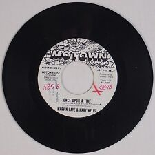 MARVIN GAYE & MARY WELLS: What's the Matter / Once Upon A Time MOTOWN DJ soul 45